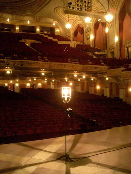 palace theater playhouse square cleveland ohio ghost light