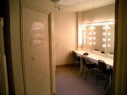 Palace Theater Dressing Room 404